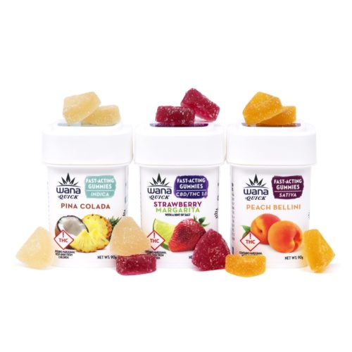 Wana Quick Fast-Acting Gummies launch with Happy Hour Inspired Flavors
